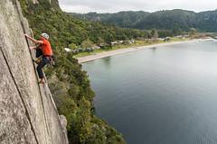 New Horizons (gomezthecosmonaut) Tags: newzealand climbing rockclimbing whanganuibay newhorizons a99 markwatson routeclimbing distagont224 24mmf2za