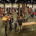 The fifth annual Maker Faire in the NC State Fairgrounds Exposition Center.
