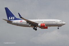 LN-RRA - 2007 build Boeing B737-783, on approach to Runway 06L at Palma (egcc) Tags: sk boeing sas mallorca palma majorca scandinavianairlines b737 pmi 2288 staralliance b737700 lepa b737ng lnrra 30471 b737783