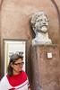 Castel Sant'Angelo (boingyman.) Tags: street italy rome faces heads castel santangelo boingyman