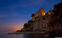Ora Blu a Mulinetti (Matteo Nebiacolombo) Tags: sunset sea costa coast riviera tramonto mare genova coastline bluehour mulinetti rivieradilevante recco orablu