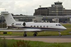 N620JH Gulfstream IV - Manchester Airport (benallsup) Tags: man plane manchester airport aircraft aviation air biz iv manchesterairport gulfstream ringway bizjet egcc n620jh