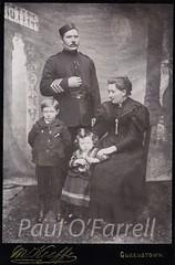 Royal Irish Constabulary Queenstown (ofarrl) Tags: family ireland portrait irish uniform cork 19thcentury victorian police queenstown ric cobh lawenforcement sergeant constable cabinetcard chevrons pillboxhat royalirishconstabulary