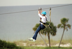 06-23-2014 First Lady Bentley Zip Lines at Gulf State Park