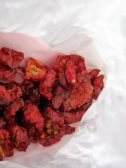...dried cherry tomatoes* ('Art & Natura') Tags: red vegetables yard tomatoes orchard artisan specialty driedfruits