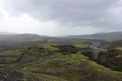 On the way from Þórsmörk to Emstrur/Botnar