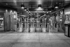 Empty MARTA Station