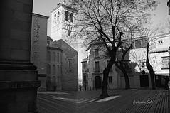 Plaza de Santo Domingo el Antiguo (mause_1960) Tags: espaa blancoynegro toledo plazas castillalamancha