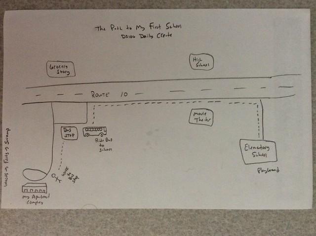 Path to school #tdc932 #dailycreate