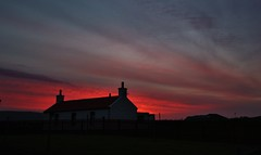 Sunset from Scatness IMG_1159