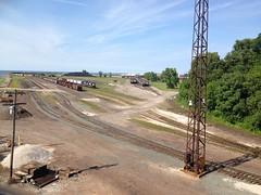 Ashtabula II (Fan-T) Tags: railroad yard train harbor ns coal ore csx ashtabula