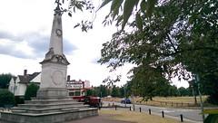 At the war memorial by Wimbledon Common (London Transport Museum) Tags: bus london museum memorial war transport conservation restoration common wimbledon btype aec lgoc b2737