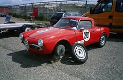 Auto Italia - 2014 (Ronald_H) Tags: auto classic cars film italian italia alfa romeo expired 2014