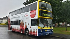 Double Coke photos of the week for Monday 28th July 2014. (Dublin Bus - Tony Murray) Tags: coke cococola dublinbus larkhill volvoalx400 ax647