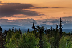 Last Light on Mt Foraker (endrunner) Tags: travel mountains landscapes exposure7 pscc topazadjust topazinfocus