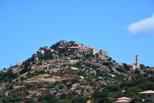 View on Cateri (Corsica, France 2014)