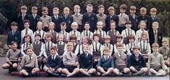 Neat & Tidy (theirhistory) Tags: uk school girls color boys socks shirt children scotland shoes tie skirt jacket badge junior gb jumper schoolphoto wellies blazer primary classphoto schooluniforn