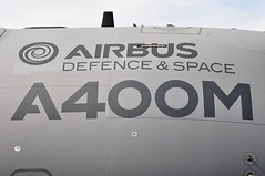 Airbus Defence & Space A400M (A380spotter) Tags: staticdisplay airbusdefencespace a400m atlas fwwms grizzly3 three sbacfarnboroughinternationalairshow2014 fia2014 farnborough eglf fab