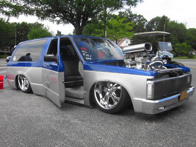 chevy 1991 custom suv blazer carshow s10 slammed glenburniemd sunsetmaryland pepboysofglenburnie