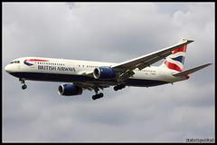 British Airways Boeing 767-336(ER) (G-BNWC) (Xavier Bayod Farr) Tags: london airplane geotagged airport heathrow aircraft aviation myrtle british boeing xavier airways britishairways avi avin aeropuerto spotting lhr myrtleavenue egll bayod londonheathrowairport farr 767336er gbnwc canoneos60d tamron70300vcusd xavierbayod xavierbayodfarr