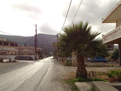 streets of Kissamos (JoannaRB2009) Tags: street city summer holiday mountains building weather architecture clouds landscape town village cloudy path sony greece crete kissamos hx400v sonyhx400v