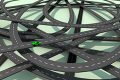 Road To Ruin (Philippe Put) Tags: auto life road city green industry nature car landscape concrete 3d highway traffic map greenpeace conservation c4d junction porsche freeway oil metropolis jam lamborghini economy fuel lowpoly exhaust wwf sportscar tesla ecological carbondioxide fossile congested llustration c02 philippeput mazefume lifestylei
