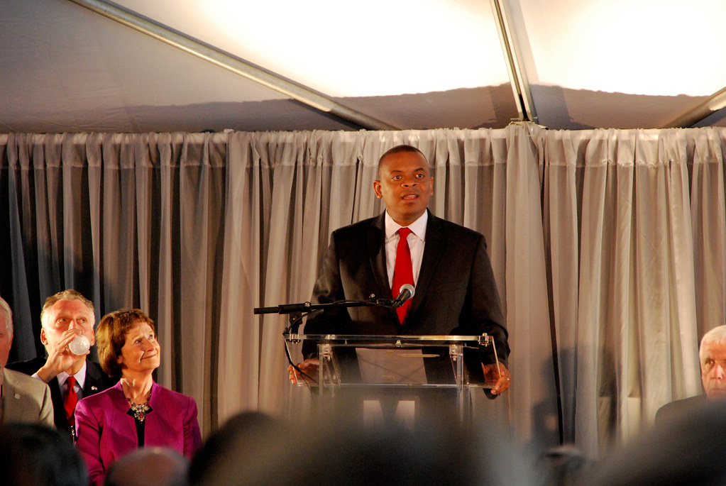Opening ceremony: Anthony Foxx by BeyondDC, on Flickr