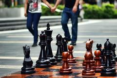 Chess (Sonnywood) Tags: street people urban love canon dof sydney chess streetphotography australia darlingharbour dslr