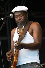 Clinton Fearon (Jamaica) (Nina_Ali) Tags: womad2014 charltonpark worldmusic malmesbury festivals england clintonfearon jamaica ninaali