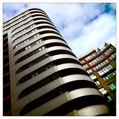 Munkenbeck Building, Paddington Basin (firstnameunknown) Tags: london architecture basin paddington waterside iphoneography hipstamatic blankofilm akiralens munkenbeckbuilding