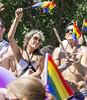 "Vancouver Pride Parade 2014 - 0157 (gherringer) Tags: summer music canada vancouver fun happy bc pride parade colourful telus caya vanpride ""west end"""