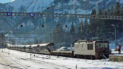 Re 4/4 186 (BLS + Basel) Tags: bls re44 re425 kandersteg lötschberg nordrampe eisenbahn fahrzeug zug lokomotive