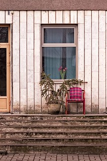 Chair On The Steps