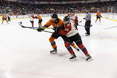 "Missouri Mavericks vs. Quad City Mallards, February 18, 2017, Silverstein Eye Centers Arena, Independence, Missouri.  Photo: John Howe / Howe Creative Photography • <a style=""font-size:0.8em;"" href=""http://www.flickr.com/photos/134016632@N02/32654240640/"" target=""_blank"">View on Flickr</a>"