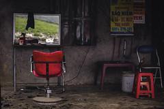 Vietnam (♫♪♭Enricodot ♫♪♭ an apple a day....) Tags: enricodot vietnam barber shop shops life work job travel traveler ilobsterit