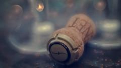 Uncorked 2 (Anne Worner) Tags: happy 10 yearscelebration anneworner cava d7000 lensbaby macromondays nikon ononesoftware velvet56 bokeh celebrate champagnecork cork crystal glass layers matte texture
