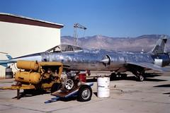 Lockheed F-104 Starfighter id is unknown at Mojave, CA in Oct 1981 (johnyates2011) Tags: starfighter lockheed f104 lockheedf104starfighter lockheedf104 f104starfighter