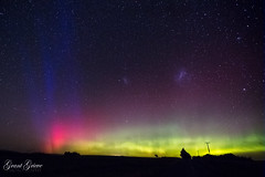 The Lady's Palette (grantg59@xtra.co.nz) Tags: lady danced she splashed heavens with colours rainbow night sky aurora australis