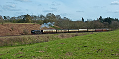mixed stock (midcheshireman) Tags: steam train locomotive railway severnvalley ivatt 41312