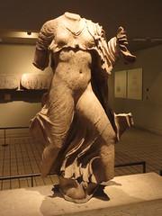 At the British Museum (Dubris) Tags: england london britishmuseum statue sculpture nereidmonument nymph