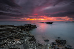 Howick Haven (Calum Gladstone) Tags: howick haven northumberland seascape dawn colour moody leefilters longexposure canon6d