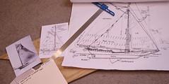 Research and Plan Modification...Sloop VICTORINE -Rex Stewart (caseships) Tags: hudsonriversloop victorine rexstewartoriginals albanyshipmodels bostonshipmodels sloopvictorine albanyny kingstonny rondout newburgh sloopmodel shipmodel oneofakind newyorkhistoricalsociety newyorkstatemuseum woodenboat dutch dutchculture maritimenewyork 19thcentury 1900 artistcraftsmanrexstewart hudsonvalley sailing tallship historical scratchbuilt waterlinemodel waterline nauticalart mast yankeemagazine bostonherald kingstonmaritimemuseum newyorktimes coldspringny piermontny dandhrailroad cratfsman modelshipbuilder cargovessel vintage