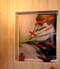 En-Suite Window Blind (Audrey A Jackson) Tags: canon450 flower windowblind creative personalised bathroom 1001nights 1001nightsmagiccity