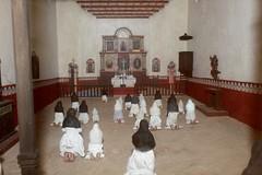 Mission Chapel Diorama (Piedmont Fossil) Tags: goliad state park texas mission espiritu santo diorama