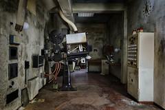 Film ab! (Martin Kriebernegg) Tags: lost lostplace urbex urban urbanexploration abandoned decay derelict architectual building theatre cinema dark light