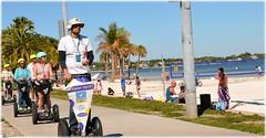North Shore Park Beach - St Petersburg, Florida (lagergrenjan) Tags: north shore park beach st petersburg florida segway tour