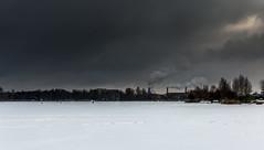 Riga (`TOMS`) Tags: riga latvia keizarmezs landscape landschaft latvija outdoor wow winter water white city sky clouds smoke 35mm afsdxnikkor35mmf18g f18g f18 nikon nikkor d3200 lettonie lettland латвия