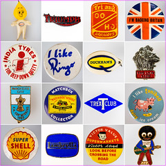 60's Memories (fstop186) Tags: 1960s esso triumph triang hornby oo ho railways imbackingbritain indiatyres ringo beatles duckhams oil lionclub manchestercity matchbox trex tonibell shell lambretta victorvalue golly robertsons goldenshred badges lapel keyrings week10theme memories nostalgia petrol 2050 motoroil 522017week10outtakes