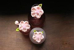 Pink Sakura Kanzashi (thea superstarr) Tags: hanakanzashi handmade handmadeflowers tsumamikanzashi kanzashi pink sakura cherry blossoms theastarr spring