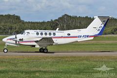 VH-FDW BEECH 200 KING AIR (QFA744) Tags: vhfdw beech 200 king air